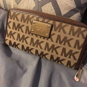 Michael Kors Tan Wallet